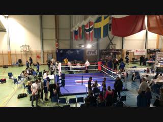 Международный турнир в Тронхейм (Норвегия) Константин Астахов синий угол