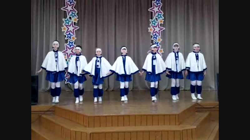 хороводный танец Зима-Красавица.