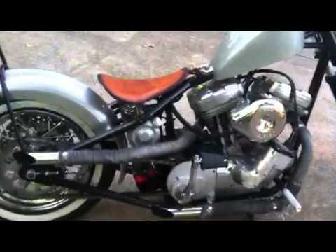 Led sled custom rigid bobber forsale