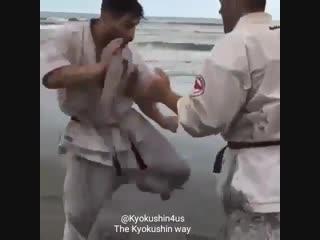 Кёкушин карате сила. Подготовка бойца https://vk.com/oyama_mas