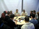 Speedcubing meeting in Moscow 25.12.2010 [Ice-covered city]