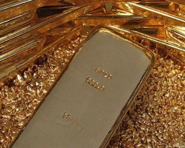 Котировки золота на лондонской бирже
