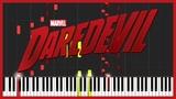 Daredevil Theme Piano Duet (Synthesia) Gotti Pros