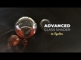 Advanced Glass Shader in Cycles - Blender 2.8 Tutorial