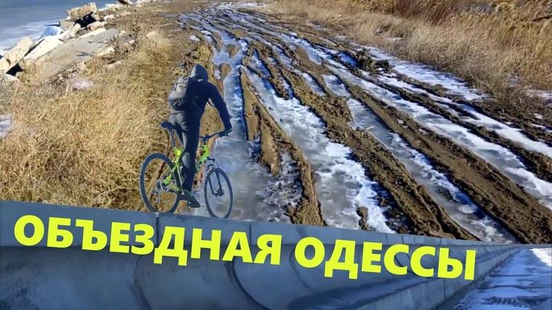 Объездная дорога Одессы на велосипедах: Куяльник, Хаджибей, камыши, клеверный мост