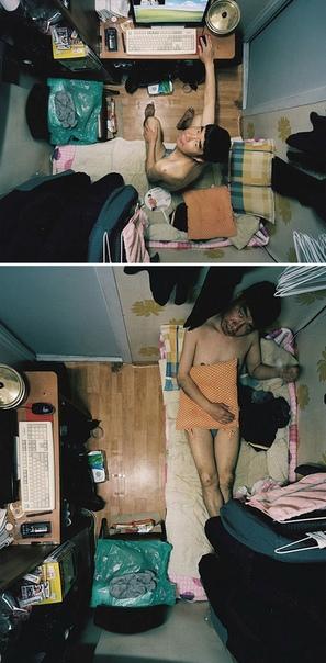 Южнокорейский фотограф показывает, как живут бедняки в гошителе