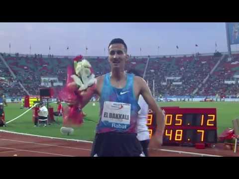 Mens 3000m Steeplechase Diamond League Rabat 2017 English Commentary