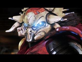 Destiny - Создание статуи павшего для Gamescom 2013