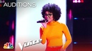 Maris Bood Up Is Cool and Confident - The Voice Blind Auditions 2019