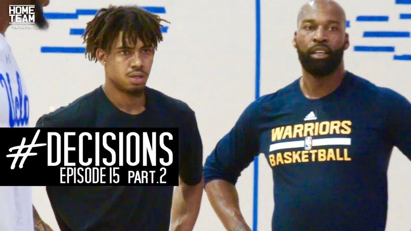 Corey Sanders: Decisions Episode 15 PART 2 Learning From Legends (Pre Draft)