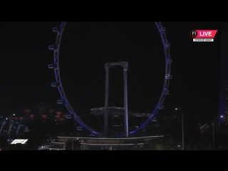 F1 2018: SINGAPORE GP - FP2