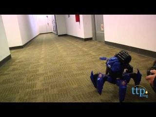 Игрушка Робот р/у синий, стреляющий снарядами, Combat Creatures
