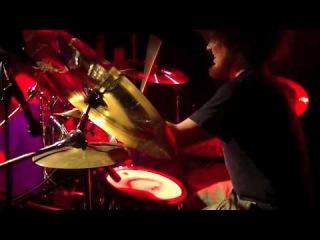 Houwitser - Terror Legion: drumcam Live @ LVC Leiden 17-03-2013