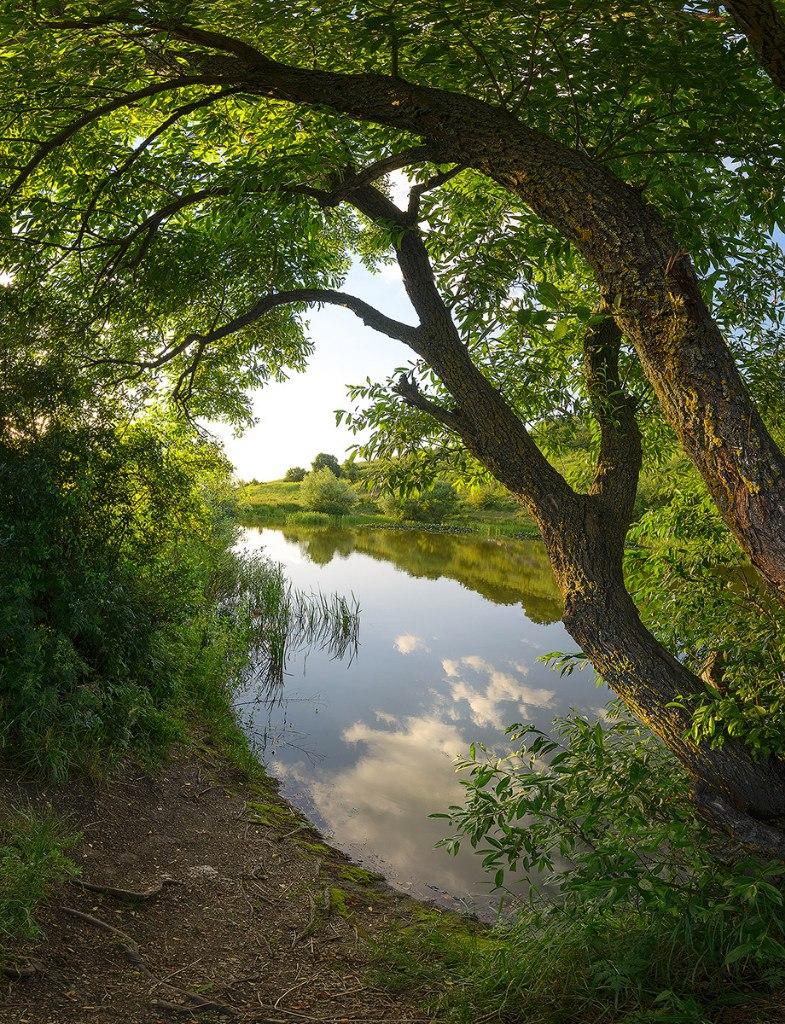 Монастырское озеро на Бештау
