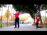 Парни танцуют Цыганочку
