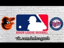 Baltimore Orioles vs Minnesota Twins 08 07 2018 AL MLB 2018 4 4