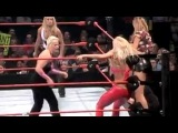 Lita & Torrie Wilson vs. Stacy Keibler & Mighty Molly (Trish Stratus As Referee)