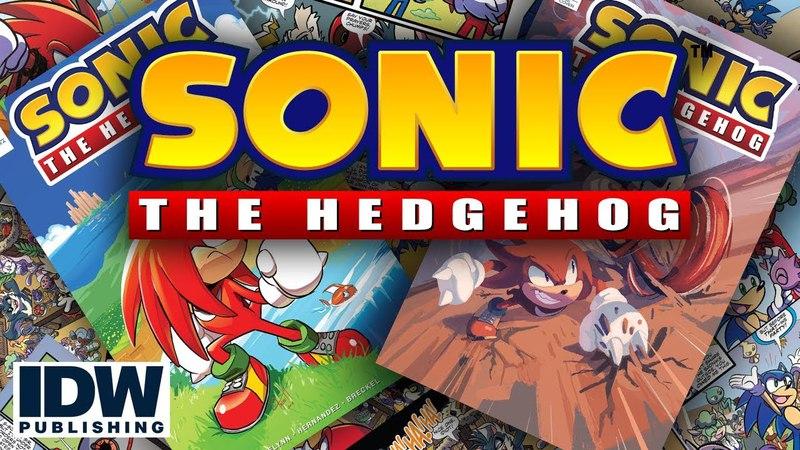 Давай сделаем это тихо Sonic The Hedgehog 3 IDW