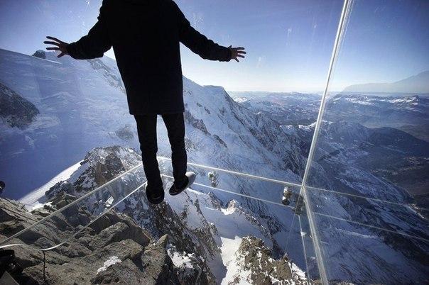 Смотровая площадка во Французских Альпах