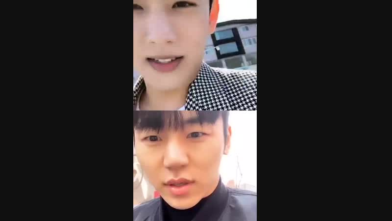 190205 Seyong Instagram Live with Insoo