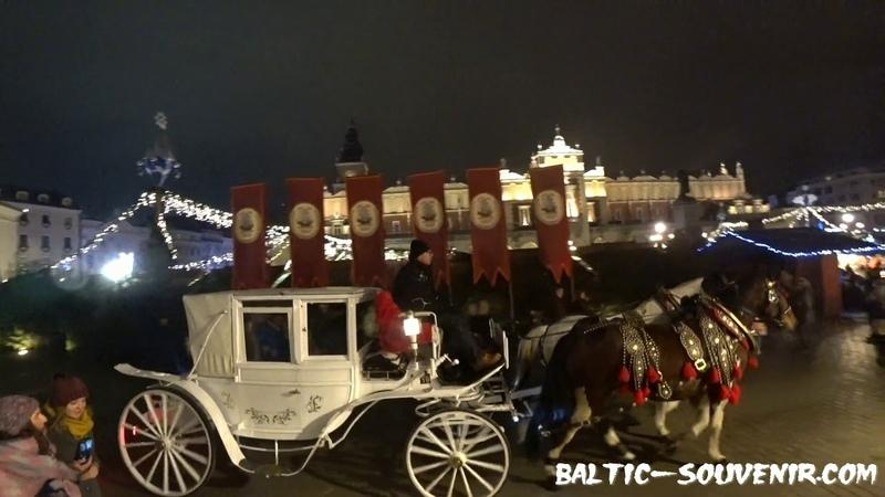 Краков новогодний, Польша / Nowy Rok, Kraków, Polska / Christmas, Krakow, Poland