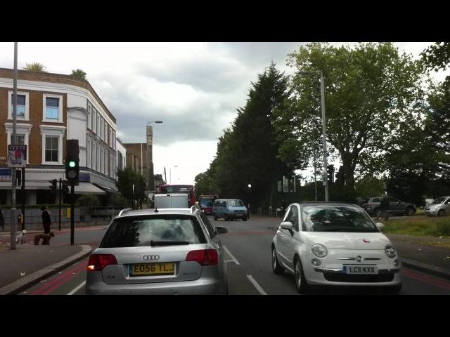 London streets - Hester road (SW11) - Welham Road (SW17)
