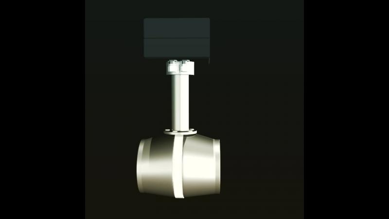 3D-анимация Расходомер учета жидкости в системе ППД