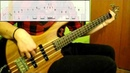 Red Hot Chili Peppers - Californication (Bass Cover) (Play Along Tabs In Video)