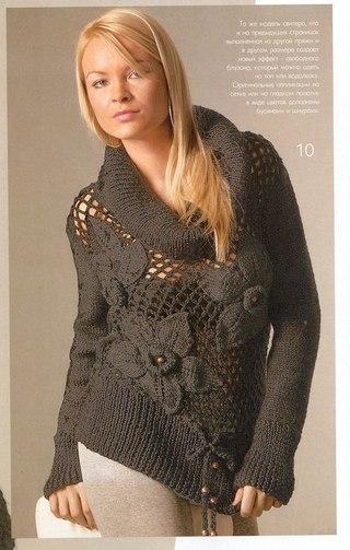 Модели для вязания на спицах