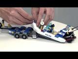 LEGO® City Полиция. Видео дизайнеров. Новинки января 2014.