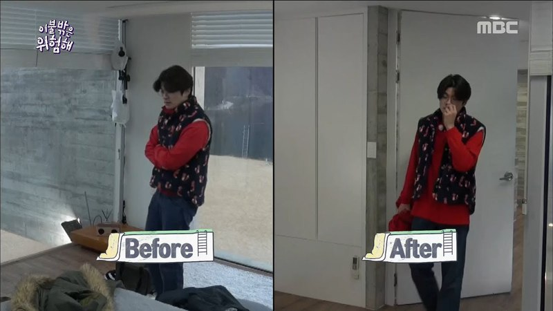 [Its Dangerous Outside]이불 밖은 위험해ep.02-New stay-at-home type Chang Ki-ha(Precious red clothes ♥)