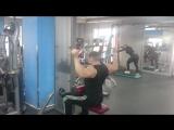 Супер сет на широчайшие мышцы спины и большие малые круглые мышцы спины ? ?