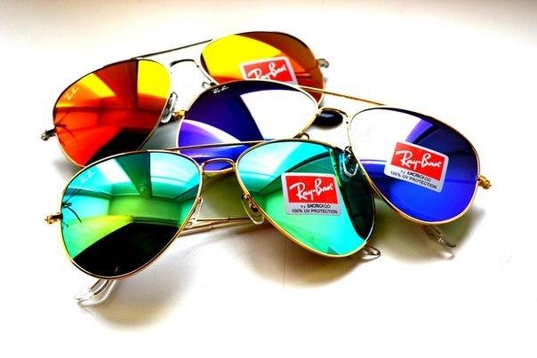 Солнечные очки для круглого лицо