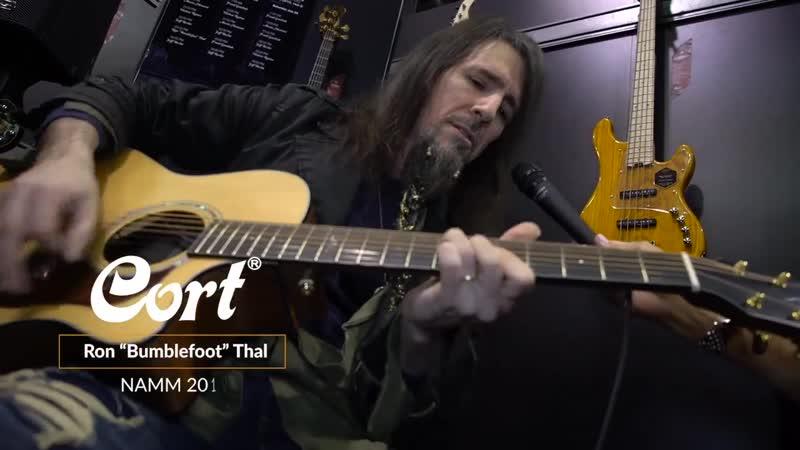 "Cort на NAMM 2019 День 1 - Ron ""Bumblefoot"" Thal"