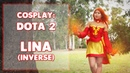 COSPLAY || Lina (Dota 2) Part 3 of 5: Bottom