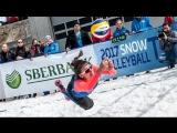 Чемпионате Европы по снежному волейболу 2018. Женщины. 1/2 финала 25 марта 10.30