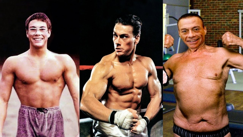 Jean Claude Van Damme - Transformation 2019    From 1 to 58 Years Old
