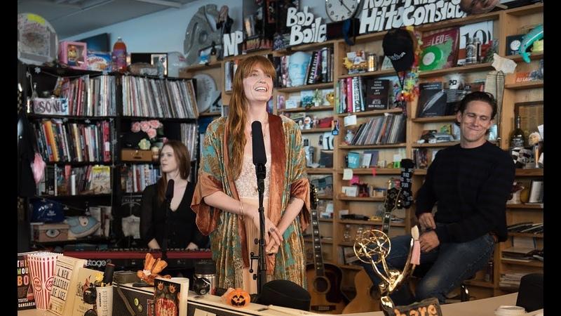 Florence the Machine NPR Music Tiny Desk Concert