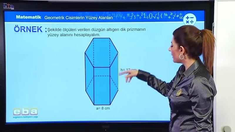 47- Prizmaların Yüzey Alan Bağıntıları - GEOMETRİ DERSLERİ - KPSS - YGS - LYS
