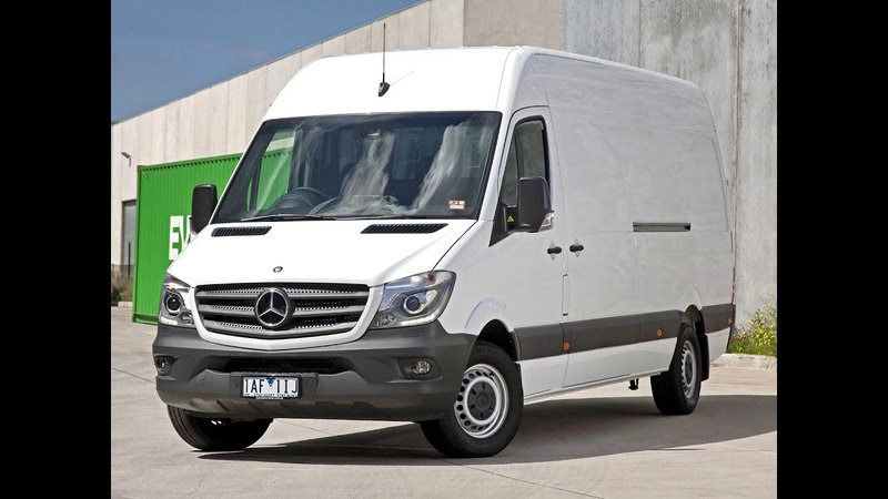 Mercedes Benz Sprinter 316 BlueTEC LWB LH2 Van AU spec Br 906 2013