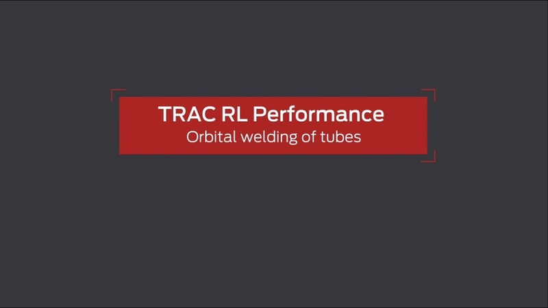 Lorch Trac RL Performance Orbital welding of tubes _English