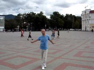 2013.09.20-10 Russia-Gelendjik-Square:  Viktorija Dajneko - Dishi.wmv