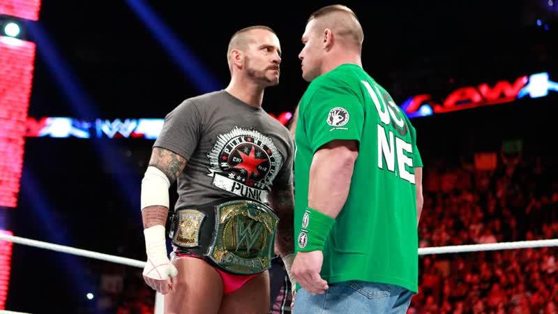 CM Punk vs John Cena Highlights Night of Champions2012 WWE Championship