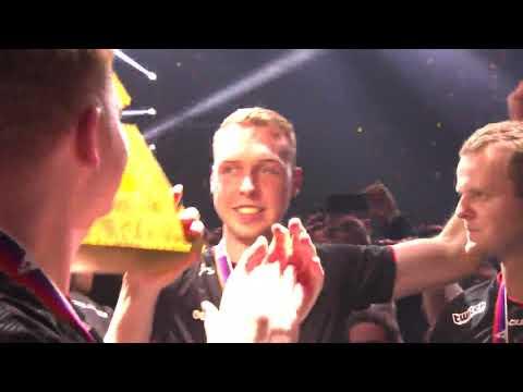 Astralis moment of winning on Blast Pro Series Lisbon