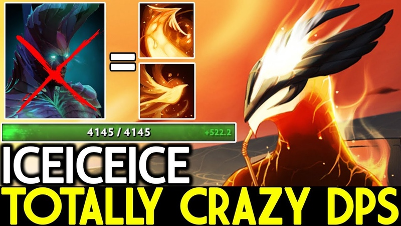 Iceiceice [Phoenix] Totally Crazy Damage Per Second 7.19 Dota 2