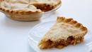 Закрытый пирог с начинкой из яблок