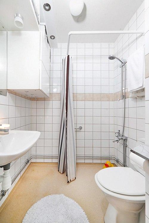 Квартира-студия 28 м в Стокгольме / Швеция.