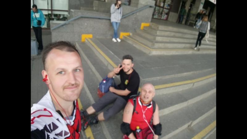 24.05.2018, 121 км за 10 часов, с РОМОЙ БОГРЕЦ( веселая версия)