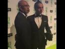 Cesqeaux с отцом на Buma Awards 2018