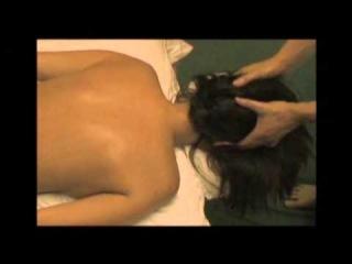 Массаж тела девушке Мастер класс Массажный СПА салон Видео урок